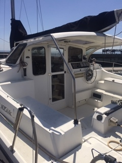 Used Sail Catamaran for Sale 2006 Gemini 105Mc Deck & Equipment