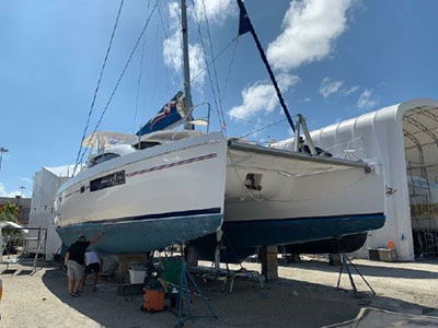 Used Sail Catamaran for Sale 2013 Leopard 48