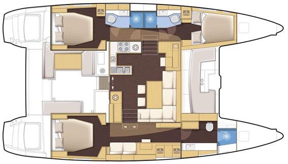 Used Sail Catamarans for Sale 2014 Lagoon 450 F Additional Information