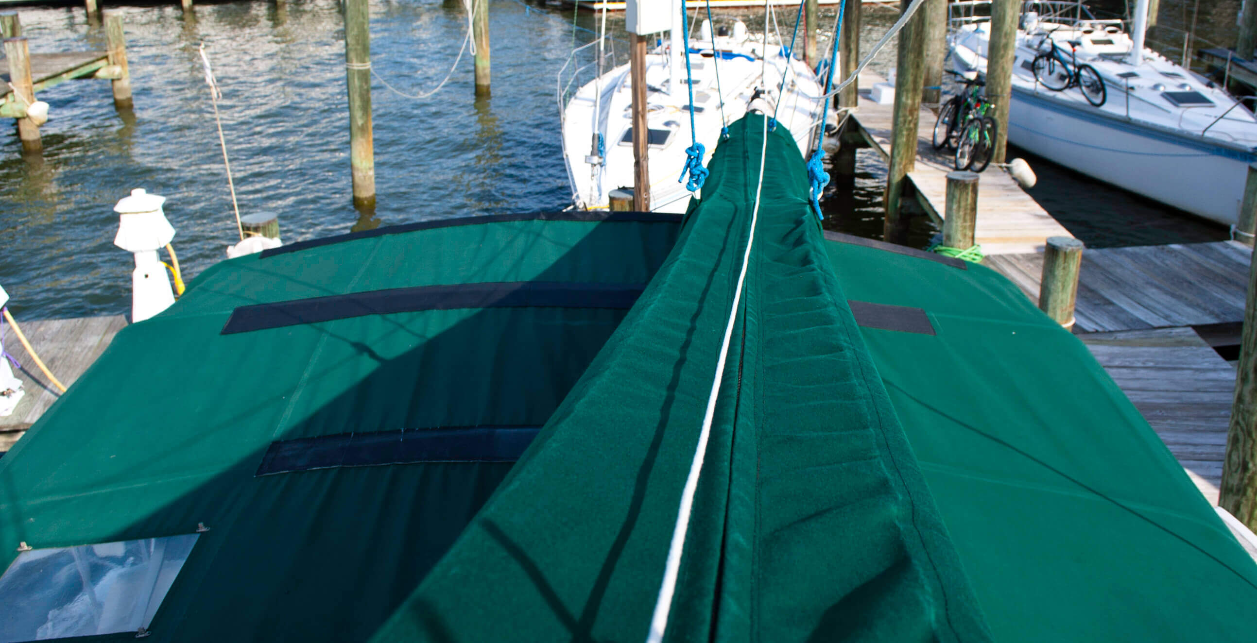 Used Sail Catamarans for Sale 2001 Victory 35 Deck & Equipment