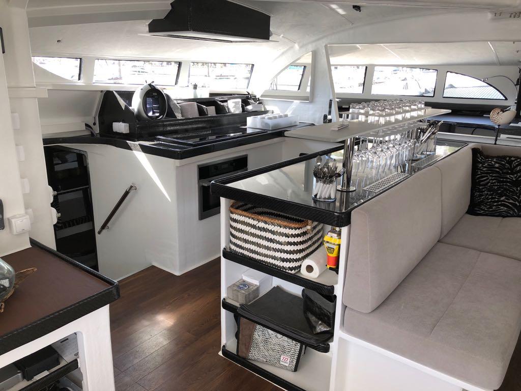 Used Sail Catamarans for Sale 2018 Custom 63 Galley