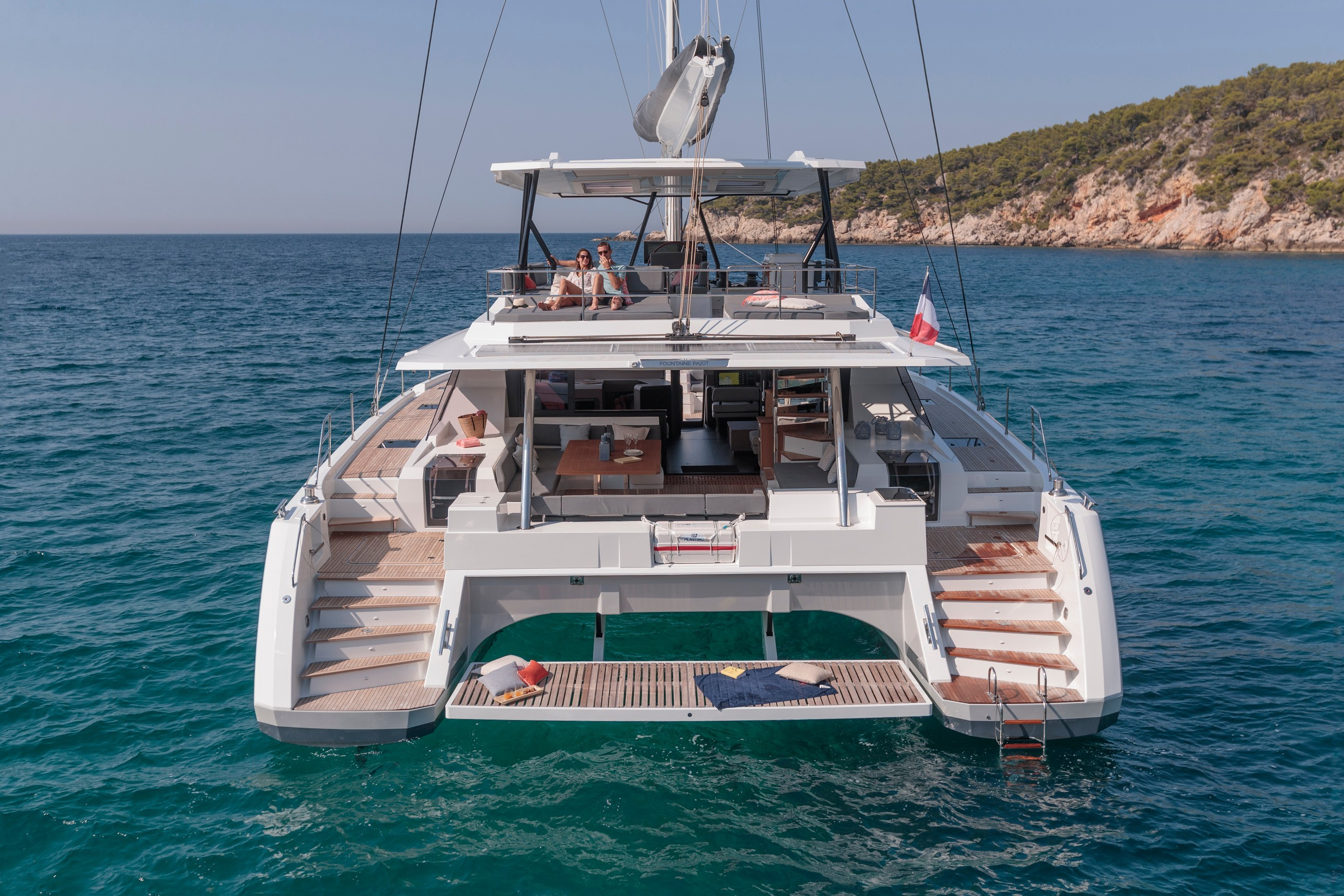New Sail Catamaran for Sale 2021 Fountaine Pajot 59 Boat Highlights