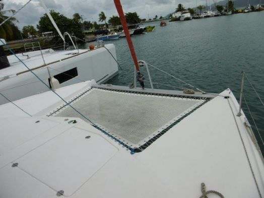 Used Sail Catamarans for Sale 2010 Leopard 38 Deck & Equipment