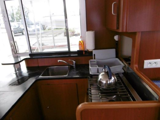 Used Sail Catamaran for Sale 2010 Leopard 38 Galley
