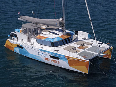 Used Sail Catamaran for Sale 2018 Saba 50