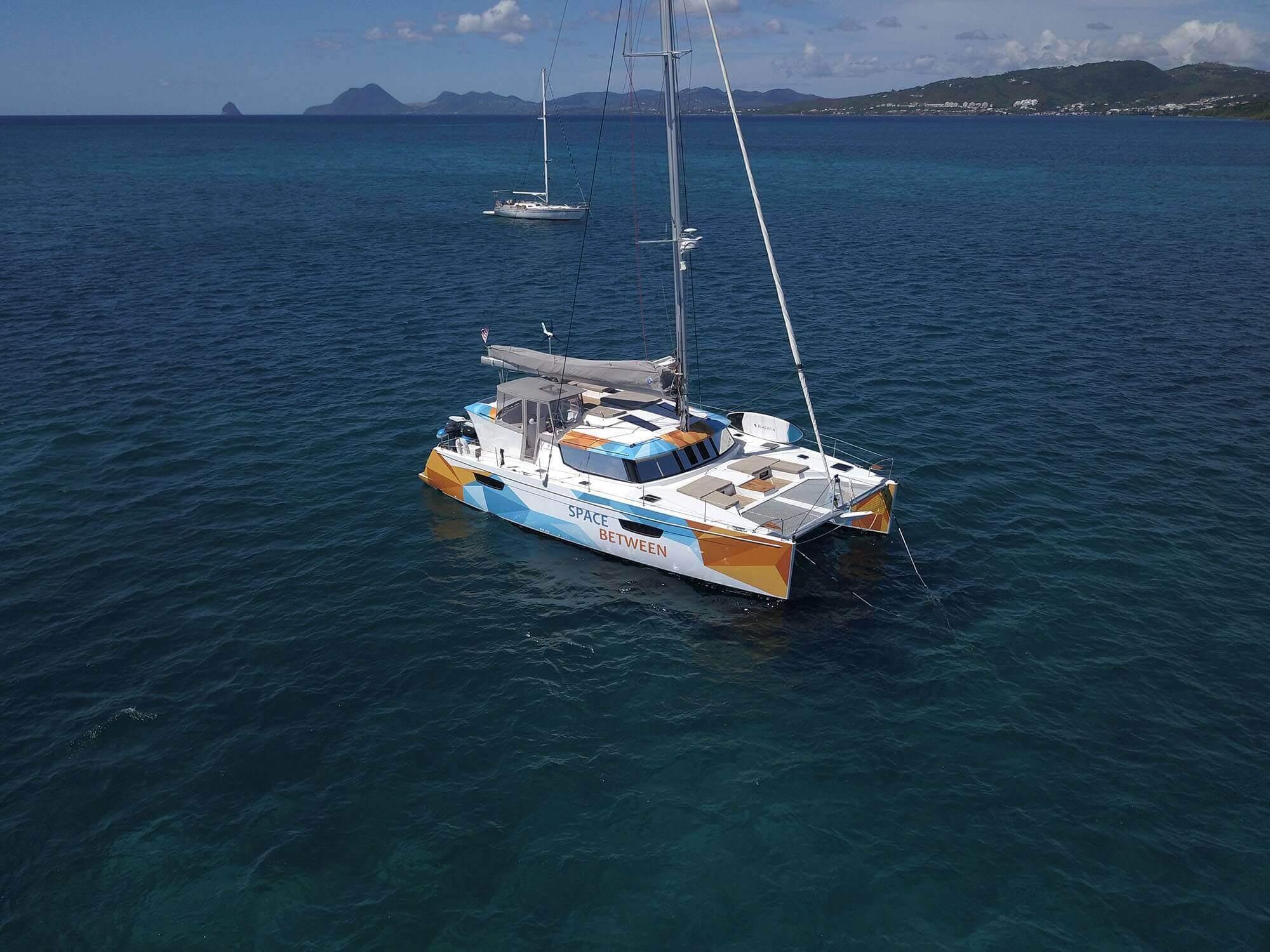 Used Sail Catamaran for Sale 2018 Saba 50 Boat Highlights