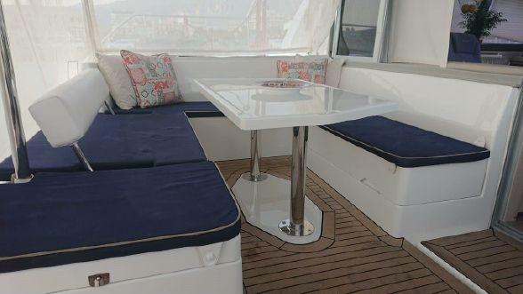 Used Sail Catamaran for Sale 2017 Leopard 40 Deck & Equipment