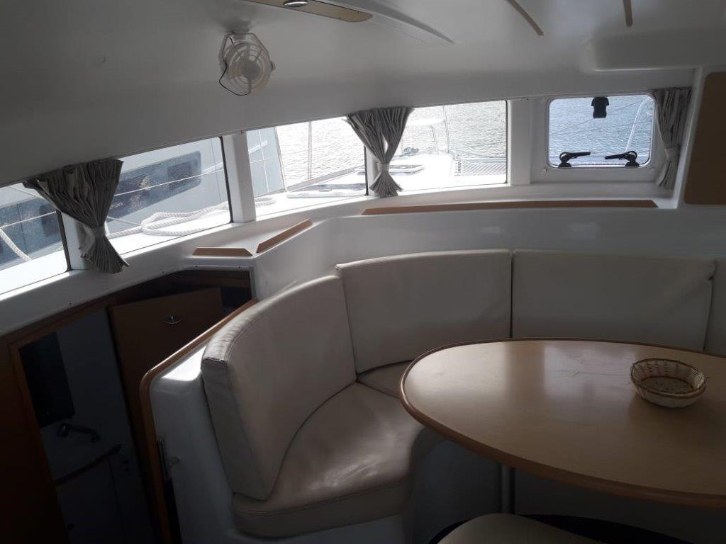 Used Sail Catamaran for Sale 2013 Lagoon 380 S2 Layout & Accommodations