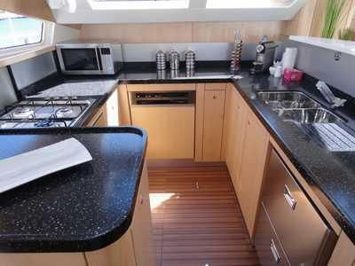 Used Sail Catamaran for Sale 2014 Privilege 515 Galley