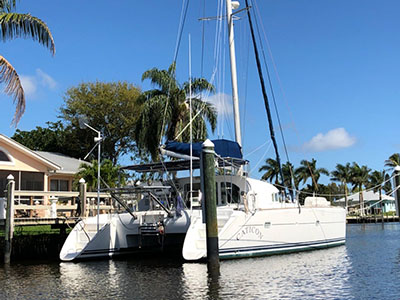 Sail Catamarans for Sale 2000 Lagoon 410