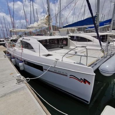 Used Sail Catamaran for Sale 2016 Leopard 40