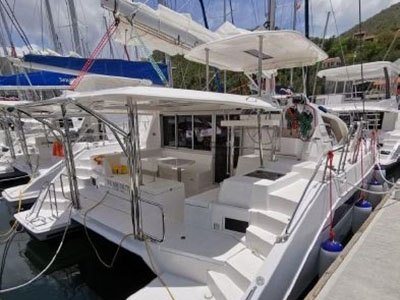 Used Sail Catamaran for Sale 2016 Leopard 40