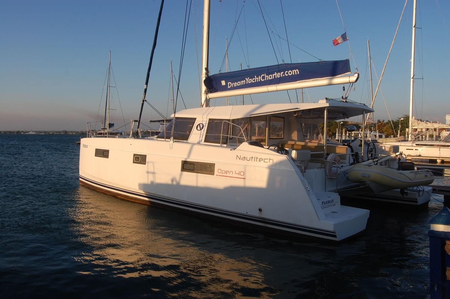 Used Sail Catamaran for Sale 2014 Nautitech 40 Open