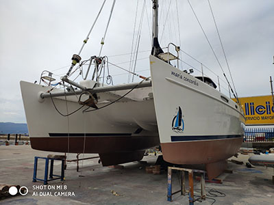 Used Sail Catamarans for Sale 2005 Broadblue 42