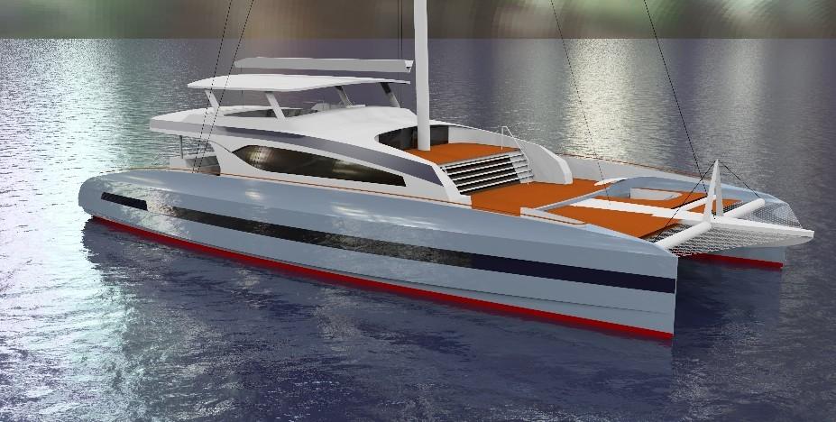 New Sail Catamaran for Sale 2020 CAYMAN 100