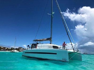 Used Sail Catamarans for Sale 2017 Bali 4.5