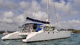 Used Sail Catamaran for Sale 2009 Sourisse 52