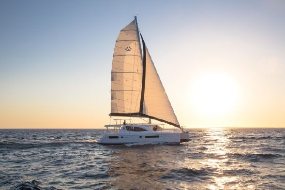 Used Sail Catamaran for Sale 2015 Leopard 48