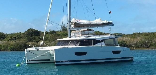 Used Sail Catamaran for Sale 2019 LUCIA 40