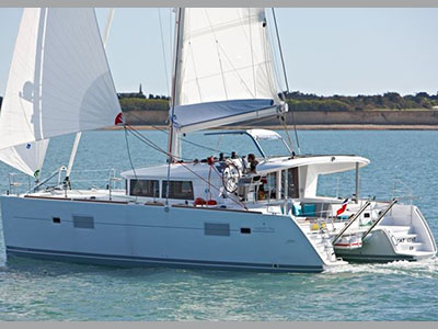 Used Sail Catamaran for Sale 2010 Lagoon 400