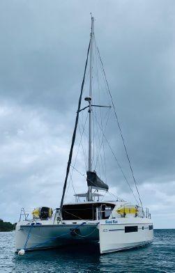 Used Sail Catamaran for Sale 2018 Leopard 40