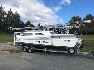 Used Sail Trimaran for Sale 2008 Telstar 28