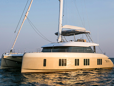 Launched Sail  for Sale  Sunreef 50