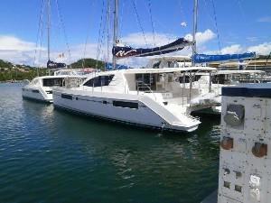 Used Sail Catamaran for Sale 2015 Leopard 48