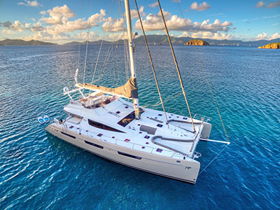 Sail Catamarans for Sale 2010 Privilege 745