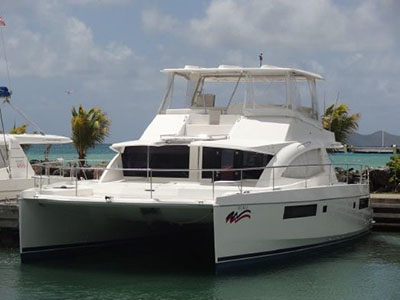 Power Catamarans for Sale 2015 Leopard 51PC