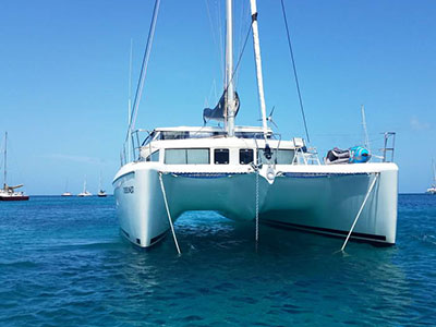 Used Sail Catamaran for Sale 2007 Lagoon 420