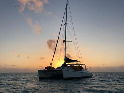 Used Sail Catamaran for Sale 2004 Leopard 47