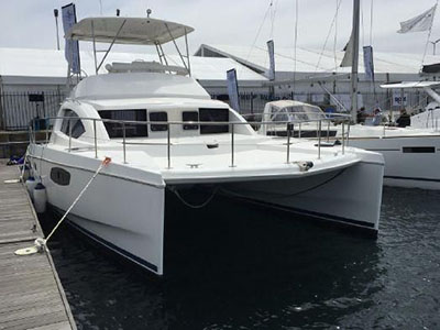 Power Catamarans for Sale 2012 Leopard 39 PC