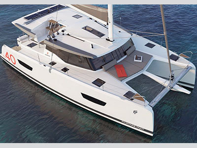 Sail Catamarans for Sale  ISLA 40