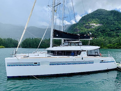 Used Sail Catamarans for Sale 2016 Lagoon 450 S