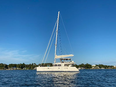 Used Sail Catamaran for Sale 2014 Lagoon 560
