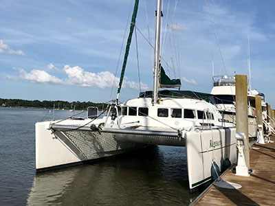 Used Sail Catamaran for Sale 2004 Lagoon 410 S2