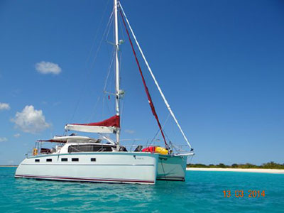 Used Sail Catamarans for Sale 2010 Antares 44i