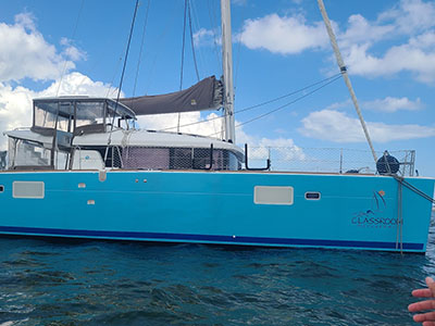 Used Sail Catamaran for Sale 2016 Lagoon 450 S