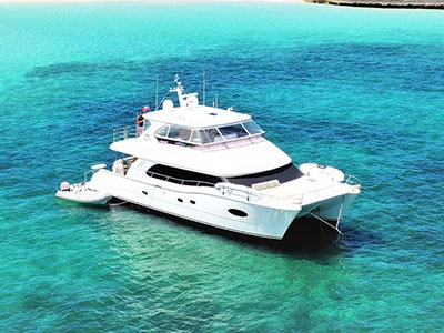 Used Power Catamarans for Sale 2014 Horizon PC60