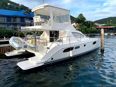 Used Power Catamarans for Sale 2015 Leopard 39 PC