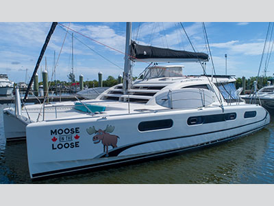 Used Sail Catamarans for Sale 2007 Leopard 46
