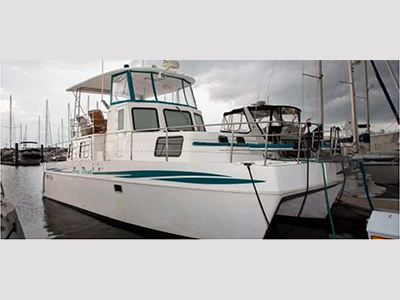 Used Power Catamarans for Sale 2006 Endeavour 40 Cruiser