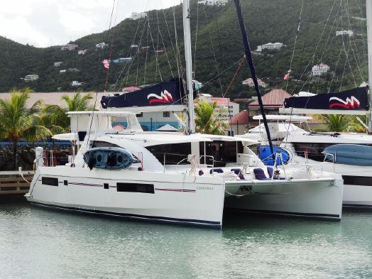 Used Sail Catamaran for Sale 2016 Leopard 48 Crewed Version