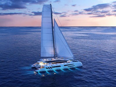 New Sail Catamarans for Sale  Eco Yacht 110