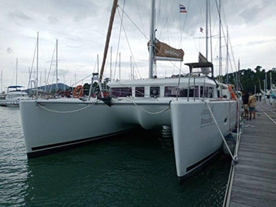 Used Sail Catamaran for Sale 2013 Lagoon 400 S2