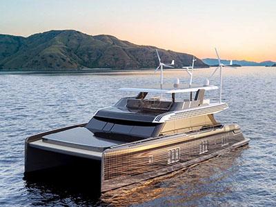 Power Catamarans for Sale  Sunreef 80 Power Eco