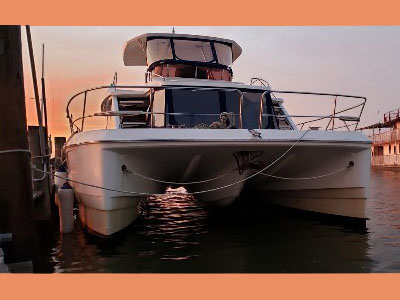 Used Power Catamarans for Sale 2014 Aquila 48