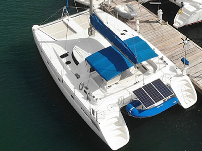 Used Sail Catamaran for Sale 1995 Venezia 42