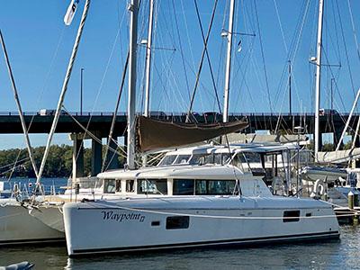 Used Sail Catamaran for Sale 2008 Lagoon 420